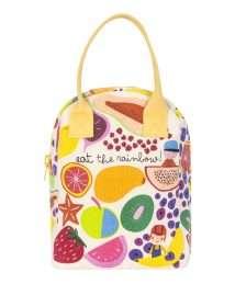 Fluf Zipper Lunch Bag (Eat The Rainbow)