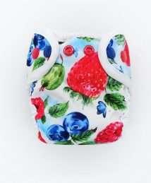 Little Birds Cover Newborn - Very Berry