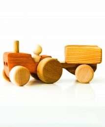 Wooden Frog Tractor