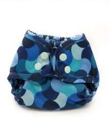 Buttons Diapers SiO Cover Newborn - Groovy