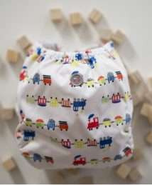 Buttons Diapers SiO Cover One Size - All aboard