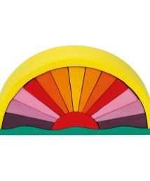 Glückskäfer Yellow Sunray Arch