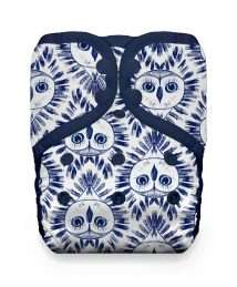 Thirsties Natural One Size Pocket Snap Night Owl