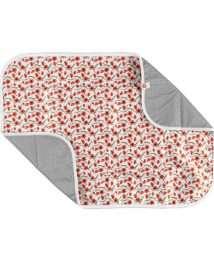 xkko changing mat red poppies (2)