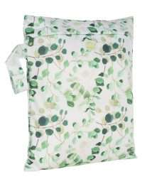 Baba+Boo Small Reusable Nappy Bag - Eucalyptus