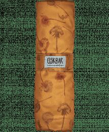 Elksbar Changing Mat folded - Dandelions (yellow)