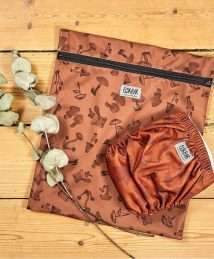Elskbar Medium Wetbag Mushrooms (brown)