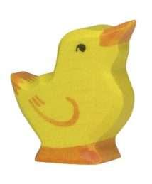 Holztiger Chick (Head raised)