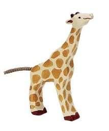 Holztiger Giraffe (Small, Feeding)