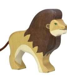 Holztiger Lion