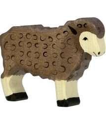 Holztiger Sheep (Standing, Black)