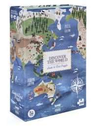 Londji Puzzle Discover the World 200 pieces