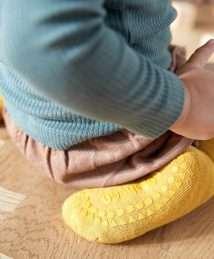 GoBabyGo Non-SlipSocks Mustard
