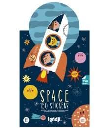 Londji Activity Stickers SPACE - 150 Stickers