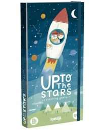 Londji wooden toy - up to the stars stacking game