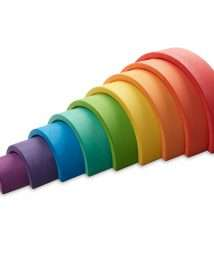 Ocamora 9 Piece Arch Rainbow (Red)