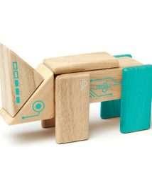 Tegu Magnetic Wooden Blocks (Robo - 8 pieces)