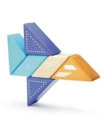 Tegu Travel Pals Jet Plane (6 pieces)