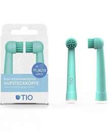 TIO Tiomatik brush head for electric toothbrushes (2 pack)