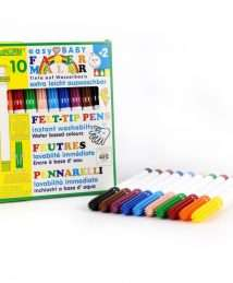 ökoNorm Easy baby felt tip pen 5mm - 10 colours (easily washable)