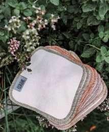 Elskbar Bamboo Cloth Wipes - Oregano