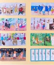 Londji Family Card Game Animal Big Band
