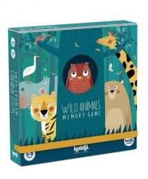 Londji Memo Game Wild Animals