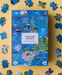 Londji Puzzle Discover Europe 200 pieces