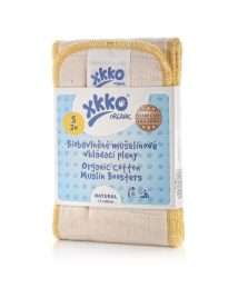 XKKO Organic Cotton Muslins Old Times Booster (2pcs) - Size S