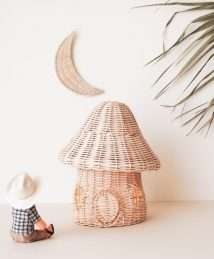 Coconeh Mushroom House Rattan