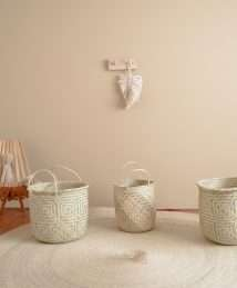 Coconeh palm leave Baskets