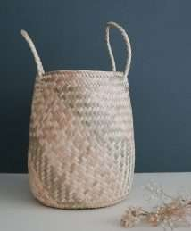 Coconeh palm leave Basket Kali