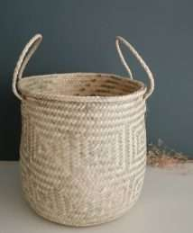 Coconeh palm leave Basket Kali (7)