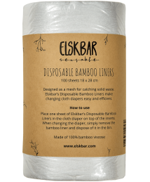 Elskbar Disposable Bamboo Liners