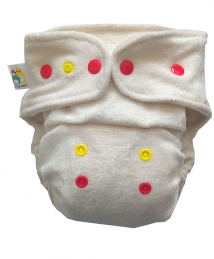 Little Birds Bamboo organic cotton Fitted Diaper XL