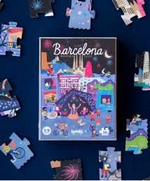 Londji Puzzle NIGHT AND DAY IN BARCELONA