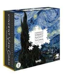 Londji Puzzle Starry Night Van Gogh (1000 pieces) (3)