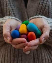 Art 21-223 Joguines Grapat Mandala Rainbow eggs
