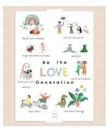 Garcon Milano Poster - Be the Love Generation