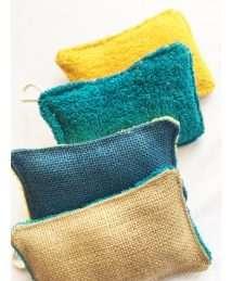 Green Clothes Washable Sponge (2)