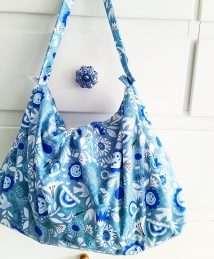 Little Birds large Wet Bag - vintage flower (Design Studio Amelie)