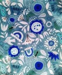 Little Birds vintage flower (Design Studio Amelie)