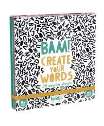 Londji Activity BAM Words - 28 wooden stamps
