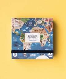 Londji Pocket Puzzle Discover the World