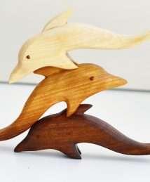 Predan wooden dolphin