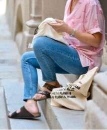 Rewinder Planet A, No Planet B Shopping Bag