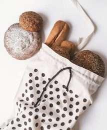 Rewinder Premium Bread Bag (Polka Dots)