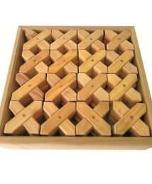 BS-155 Bauspiel X Blocks (48 Piece Set)