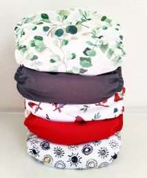 Baba + Boo Pockets Bundle of 5 One Size