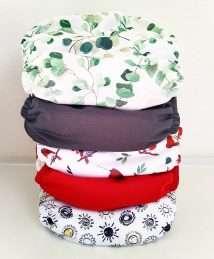 Baba + Boo Pockets Bundle of 5 One Size